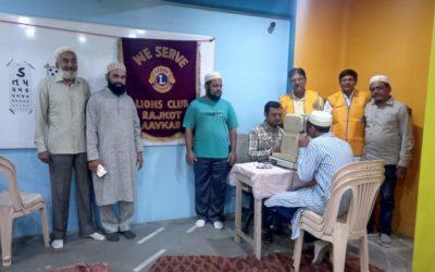 Eye check up Camp at Nooraniyah English School – Rajkot